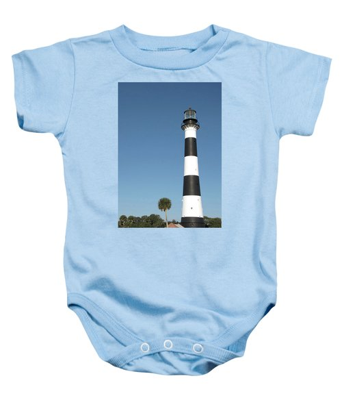 Cape Canaveral Lighthouse  Baby Onesie