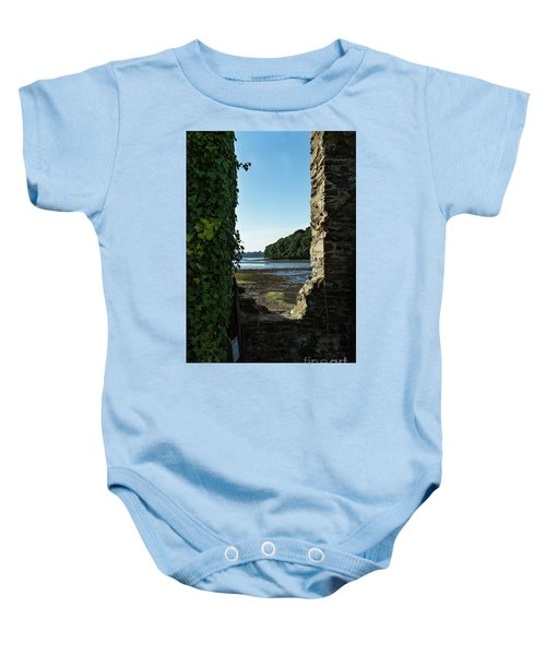 Photographs Of Cornwall Carnon Mine Window Baby Onesie