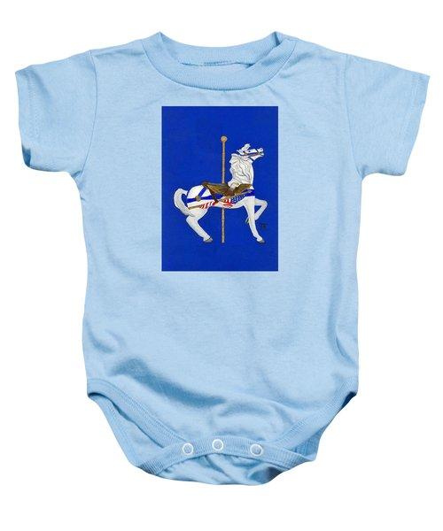 Carousel Horse #1 Baby Onesie