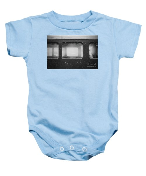 Baby Onesie featuring the photograph Carriage by MGL Meiklejohn Graphics Licensing