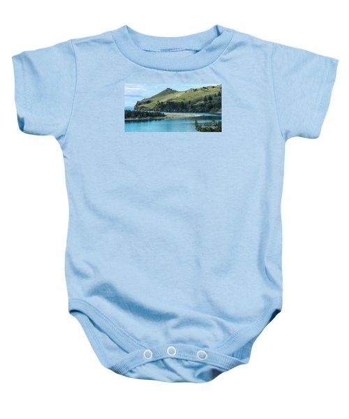 Cascade Head Panorama Baby Onesie