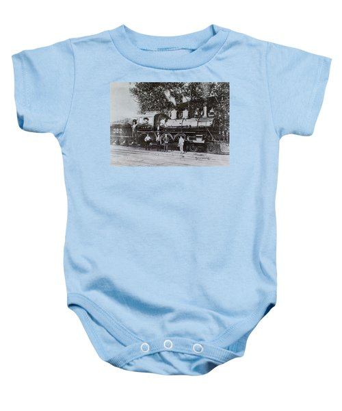 Casey Jones Engine  Baby Onesie