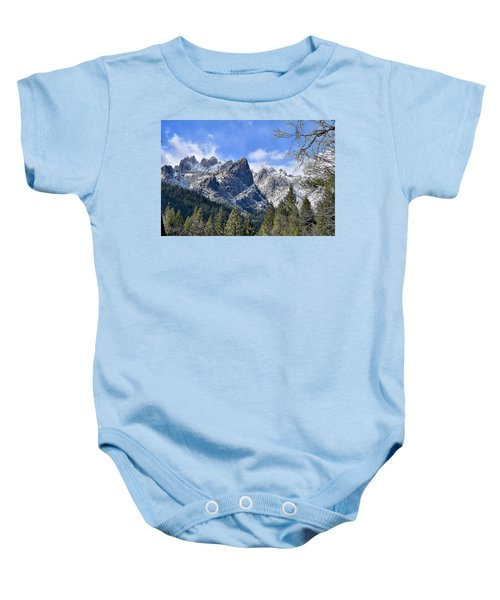Castle Crags Baby Onesie