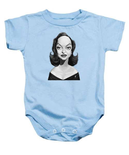 Celebrity Sunday - Bette Davis Baby Onesie