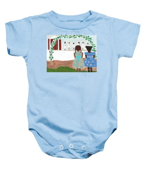 Ceremony In Sisterhood Baby Onesie