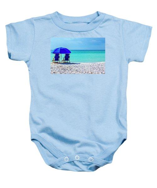 Beach Chair Pair Baby Onesie