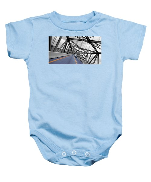 Chesapeake Bay Bridge Baby Onesie