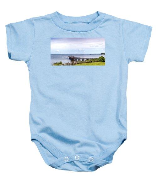 Chesapeake Bay Maryland Panorama Baby Onesie