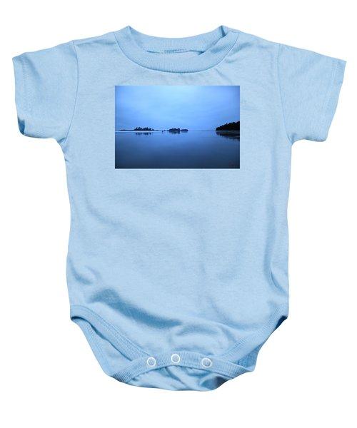 Chesterman Spatial Blues Baby Onesie