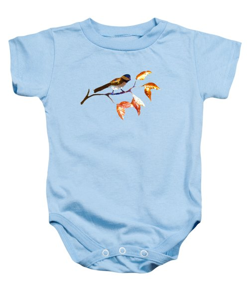 Chickadee Baby Onesie by Troy Rider