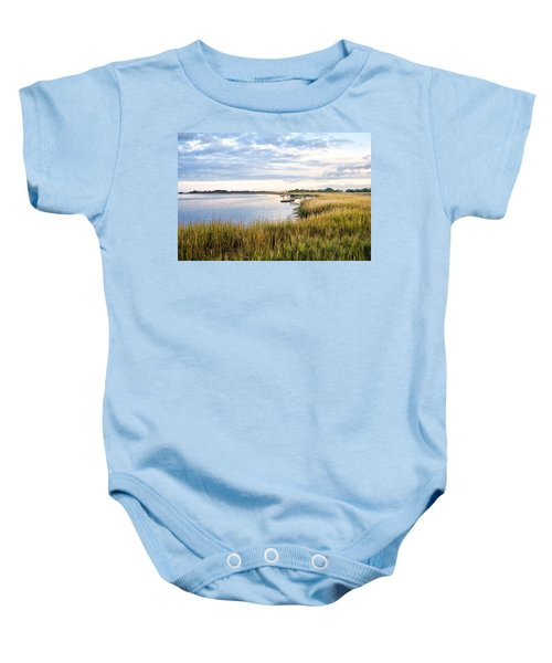 Chisolm Island Shoreline  Baby Onesie