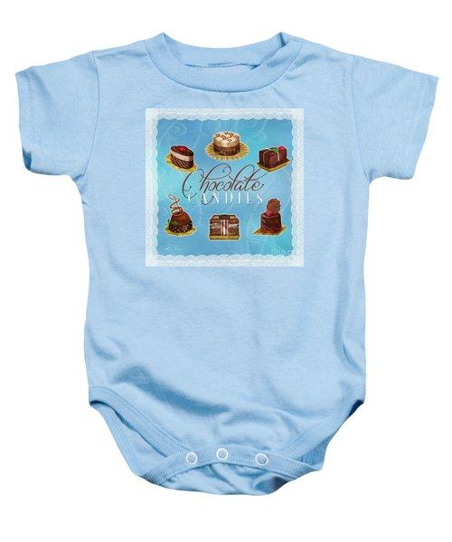 Chocolate Candies Baby Onesie