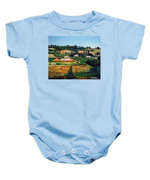 Chubby's Farm Baby Onesie