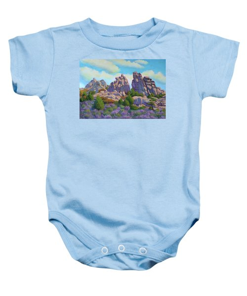 City Of Rocks Baby Onesie
