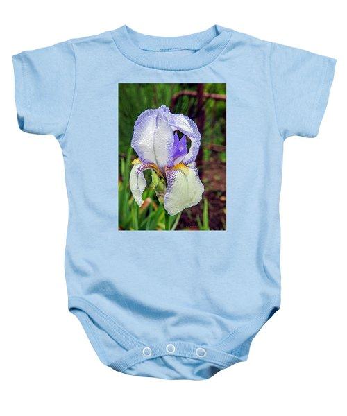 Clarabelle Iris Baby Onesie