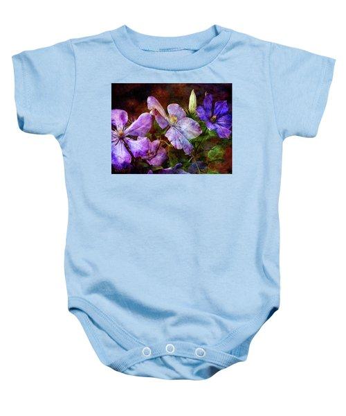Clematis 1330 Idp_2 Baby Onesie