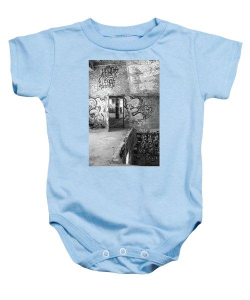Clothcraft In Black And White Baby Onesie