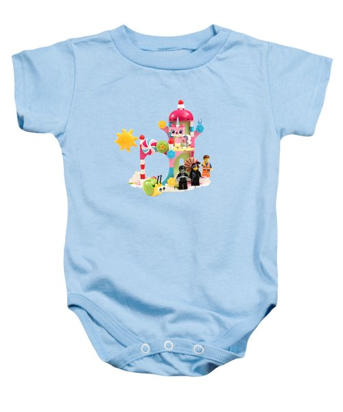 Cloud Cuckoo Land Baby Onesie by Snappy Brick Photos