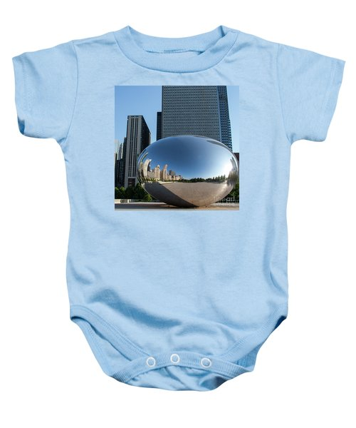 Cloudgate Reflects Baby Onesie