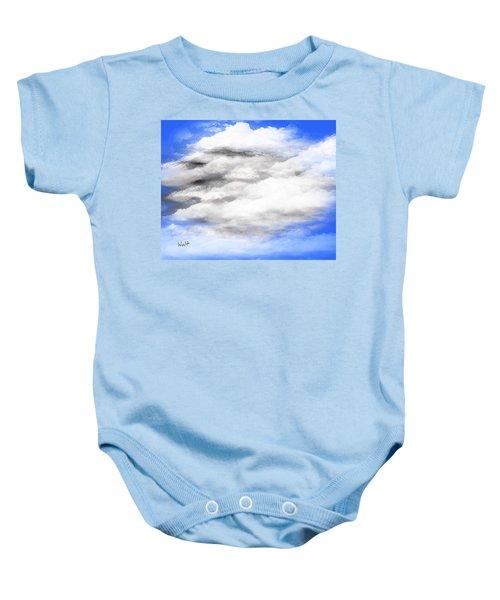 Clouds 2 Baby Onesie