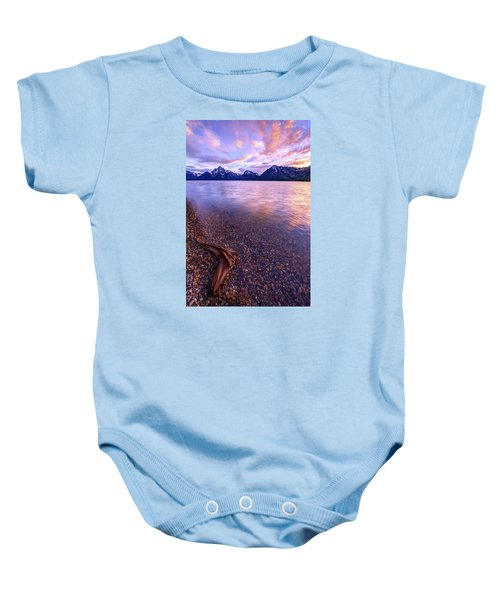 Clouds And Wind Baby Onesie by Chad Dutson
