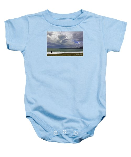 Cloudy Day Baby Onesie