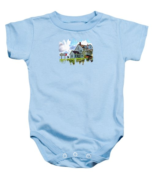 Coast Guard City Usa Baby Onesie