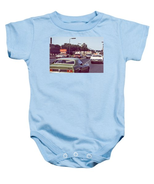 Coca Cola Plant On Central Ave Baby Onesie