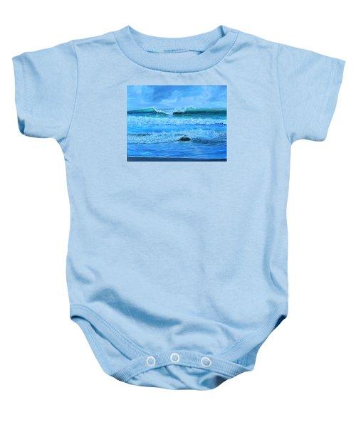Cocoa Beach Surf Baby Onesie