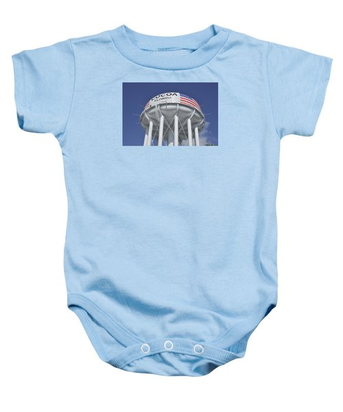 Cocoa Florida Water Tower Baby Onesie