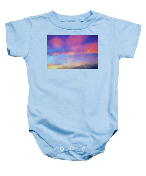 Color Abstraction Xlviii - Sunset Baby Onesie