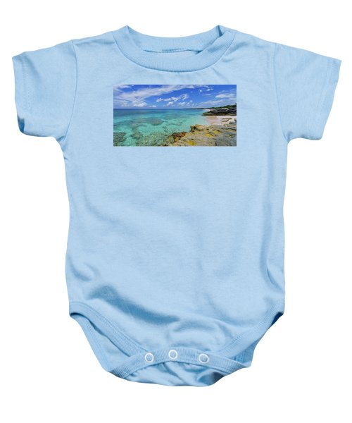 Color And Texture Baby Onesie