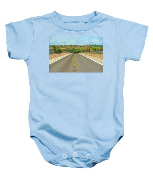 Color At Roads End Baby Onesie