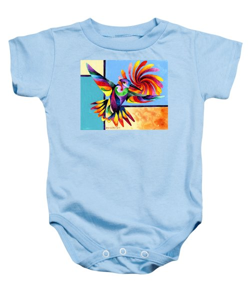 Color Spinner Baby Onesie
