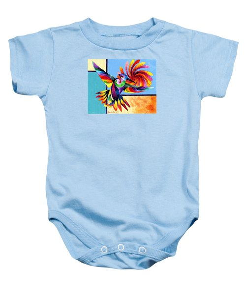 Color Spinner Baby Onesie