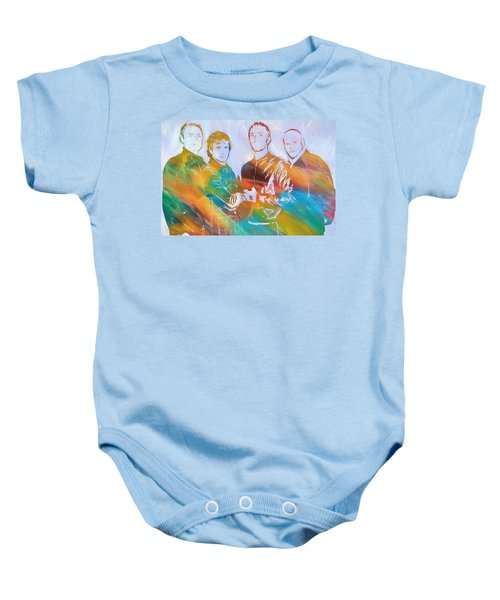 Colorful Coldplay Baby Onesie by Dan Sproul