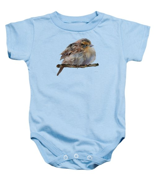 Colourful Sparrow Baby Onesie