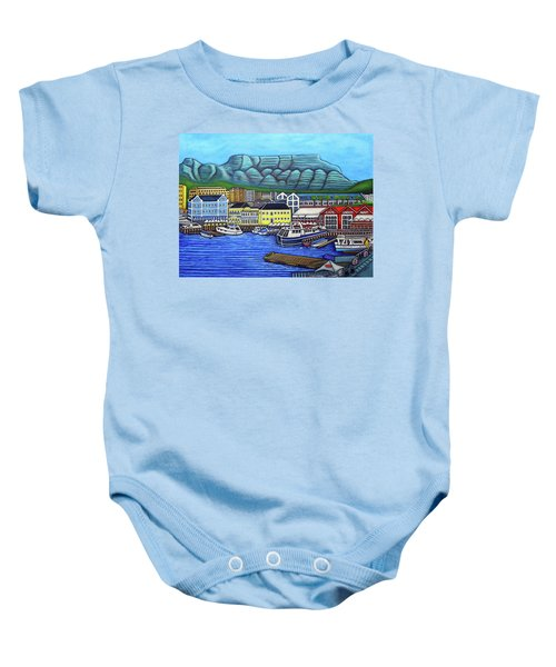 Colours Of Cape Town Baby Onesie