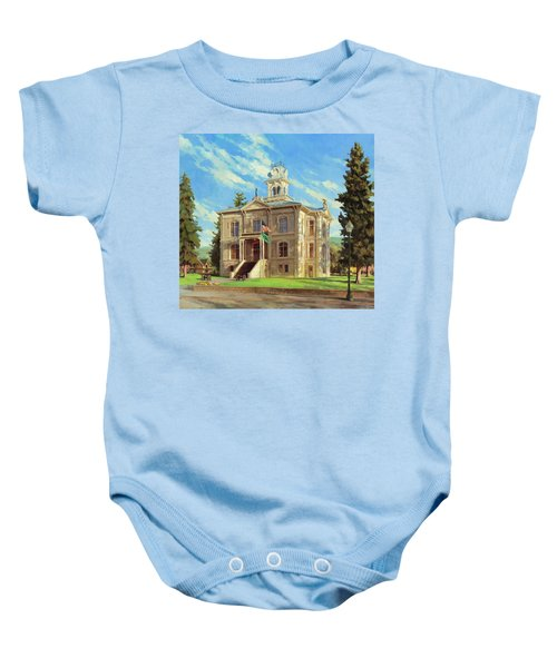 Columbia County Courthouse Baby Onesie