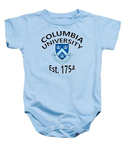 Columbia University Est 1754 Baby Onesie