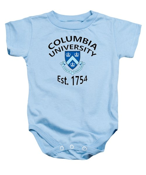 Columbia University Est 1754 Baby Onesie