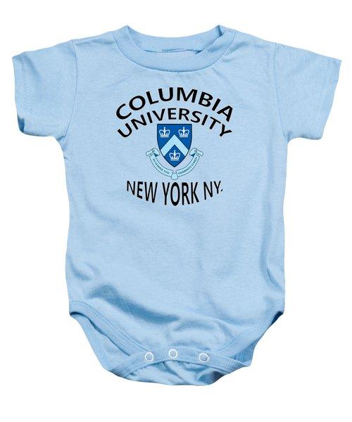 Columbia University New York Baby Onesie