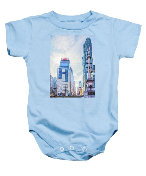 Columbus Circle Baby Onesie