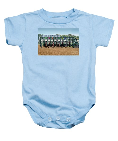 Coming Out Of The Gate Baby Onesie