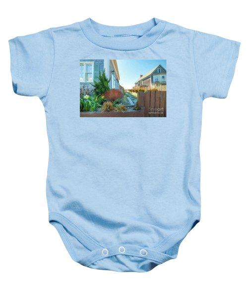 Commercial St. #4 Baby Onesie
