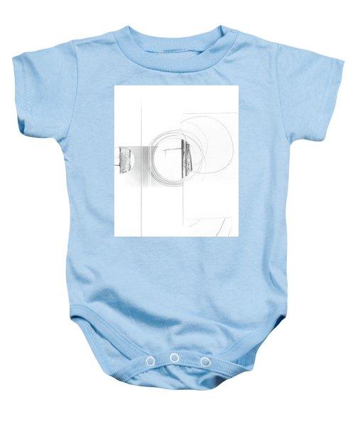 Construction No. 4 Baby Onesie