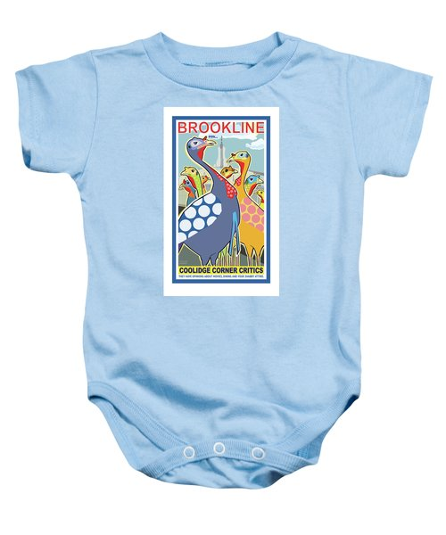 Coolidge Corner Critics Baby Onesie