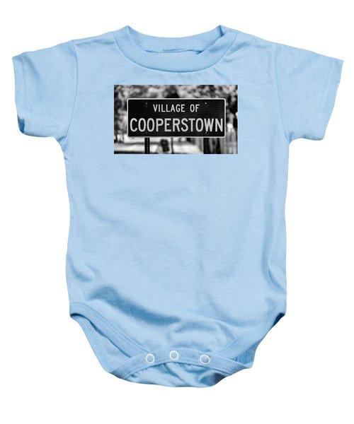 Cooperstown Baby Onesie