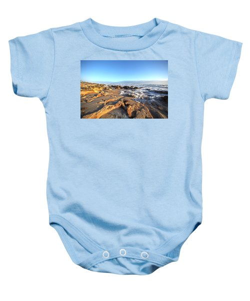 Coquina Carvings Baby Onesie
