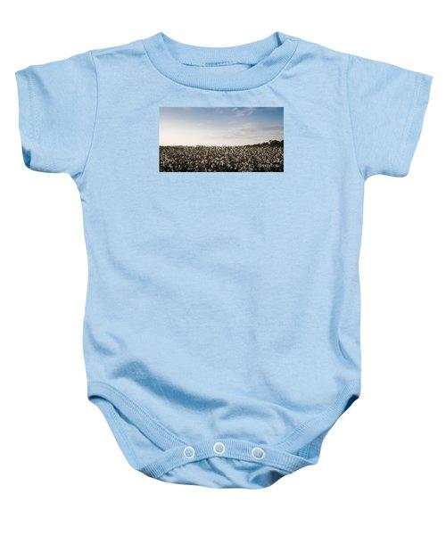Cotton Field 2 Baby Onesie